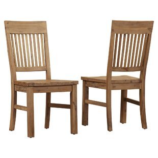 Dulce Solid Wood Dining Chair (Set Of 2) by Mistana Purchase