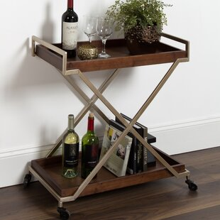 Anthonyson Kitchen Trolley Utility Dining Bar Cart by Ivy Bronx
