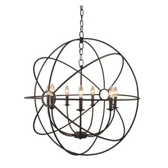 Charlton Home Ingrid Orb 8 Light Globe Chandelier