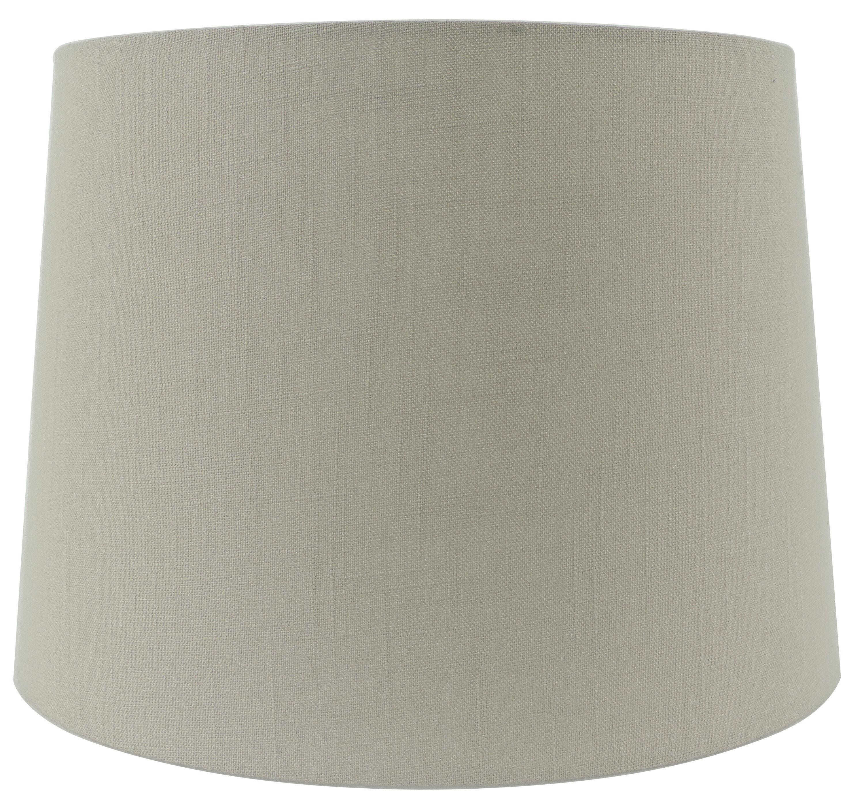11 H X 5 W Linen Drum Lamp Shade Spider Reviews Joss Main
