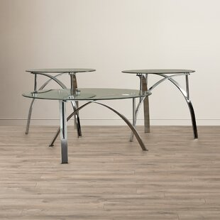Orren Ellis Raiana 3 Piece Coffee Table Set