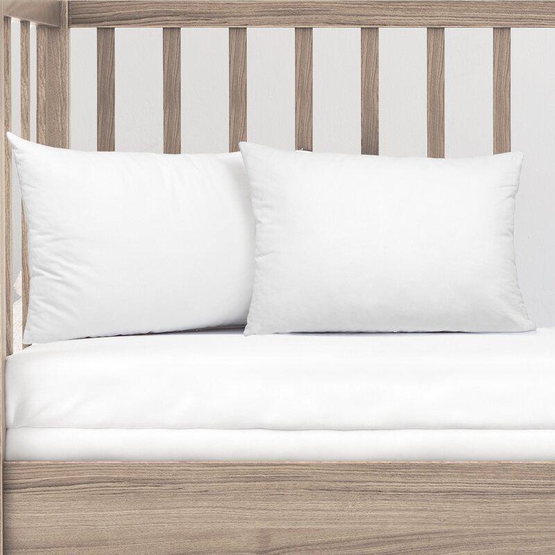 Nestl Bedding 100 Organic Cotton Toddler Pillow Wayfair