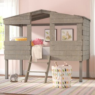 Mammie Twin Loft Bed by Three Posts