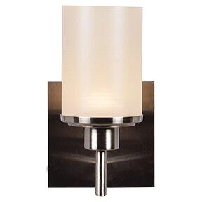 Lisinski 1-Light Bath Sconce by Ebern Designs