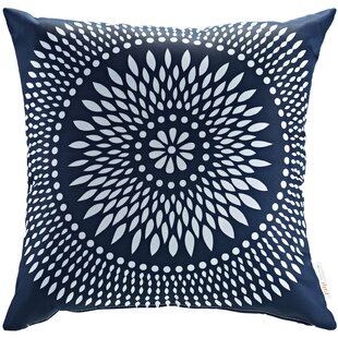 Patio Cartouche Indoor / Outdoor Throw Pillow by Modway 2019 Coupon