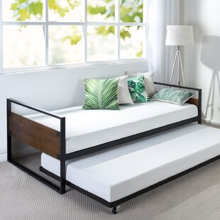 Purchase Barrett Twin Twin Daybed with Trundle by Trule Teen Reviews (2019) & Buyer's Guide
