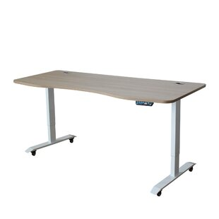 Reviews Ximena Ergonomic Height Adjustable Standing Desk By Symple Stuff
