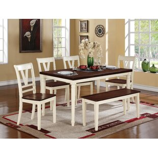 Infini Furnishings 6 Piece Dining Set