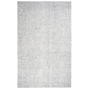 Marsh Hand Tufted 100 Wool Gray Area Rug