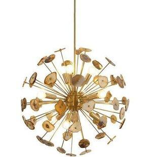 Everly Quinn Rivers 12-Light Sputnik Chandelier