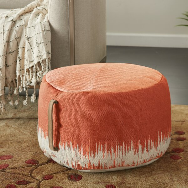 Wondrous Burnt Orange Ottoman Wayfair Pabps2019 Chair Design Images Pabps2019Com