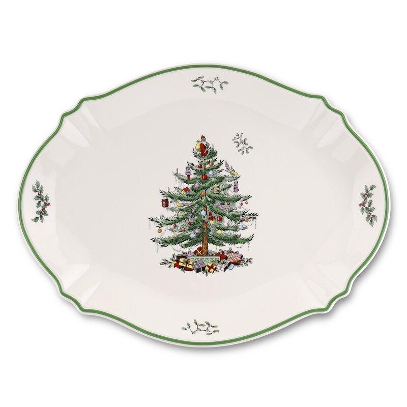 Spode Christmas Tree Sale: Spode Christmas Tree Serve Platter & Reviews