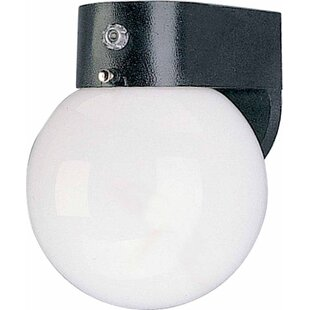 Great Price 1-Light Outdoor Sconce By Volume Lighting