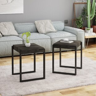Find a Lular End Table (Set of 2) By Williston Forge