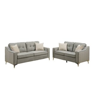 Auteri 2 Piece Living Room Set by Orren Ellis