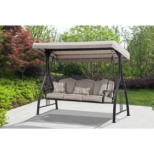 Bohrer Porch Swing with Stand
