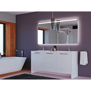 Nico 63 Double Bathroom Vanity Set by Orren Ellis