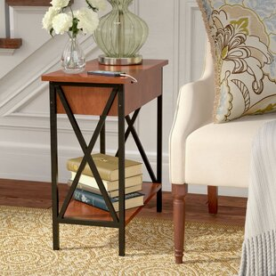 End Table With Built In Lamp Wayfair