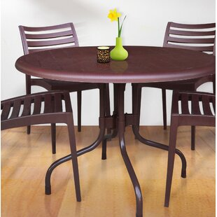 Keeley Round Shape Commercial Grade Folding Aluminum Dininig Table