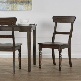 Darby Home Co Orrin Solid Wood Dining Chair (Set of 2)