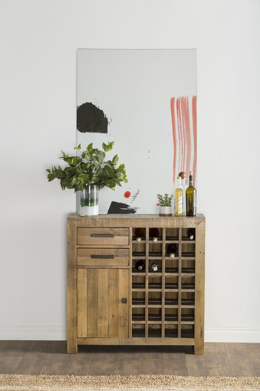 Needham 28 Bottle Floor Wine Cabinet