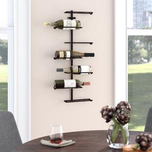 Zaniah 7 Bottle Wall Mounted Wine Rack by Mercury Row