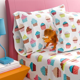 Earnestine Cupcake Dreams Sheet Set