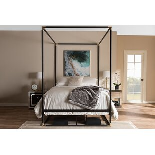 Ozzie Queen Canopy Bed by Mercer41