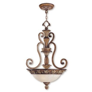 Astoria Grand Scotland 3-Light Bowl Pendant