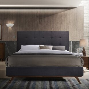 Dunouragan Century Upholstered Platform Bed by Corrigan Studio