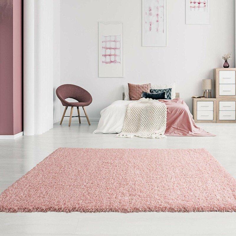 17 Stories Alfheim Light Pink Rug