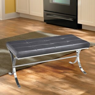 Armaz Faux Leather Bench