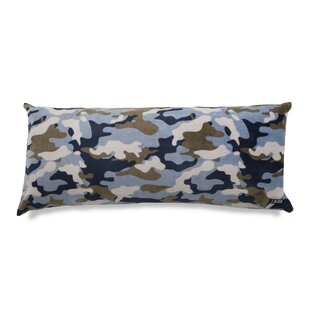 Camouflage Printed Plush Polyfill Body Pillow by IZOD