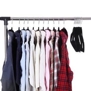 Compare Non-Slip Thin Hangers By Rebrilliant