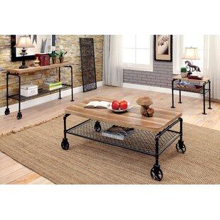 Doran 3 Piece Coffee Table Set
