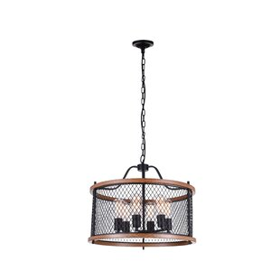 CWI Lighting Kayan 6-Light LED Chandelier
