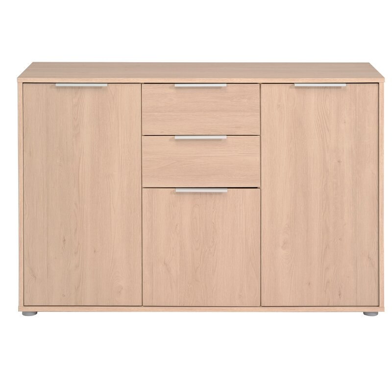 Turn on the Brights  Biffle Sideboard Color (Base/Top): Brook Oak