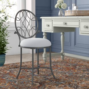 Reviews Louella Vanity Stool By Fleur De Lis Living