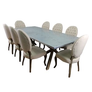 Syracuse 9 Piece Dining Set by MOTI Furniture
