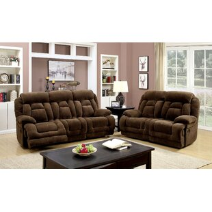Grier 3 Piece Reclining Living Room Set