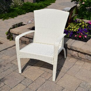 Truesdell Wicker Adirondack Chair