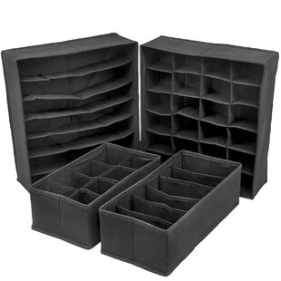 Rebrilliant 4 Piece Drawer Organize Set