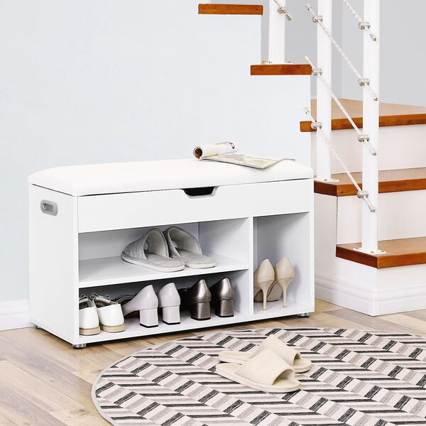 Brilliant Small Entryway Bench And Shoe Storage Wayfair Co Uk Creativecarmelina Interior Chair Design Creativecarmelinacom
