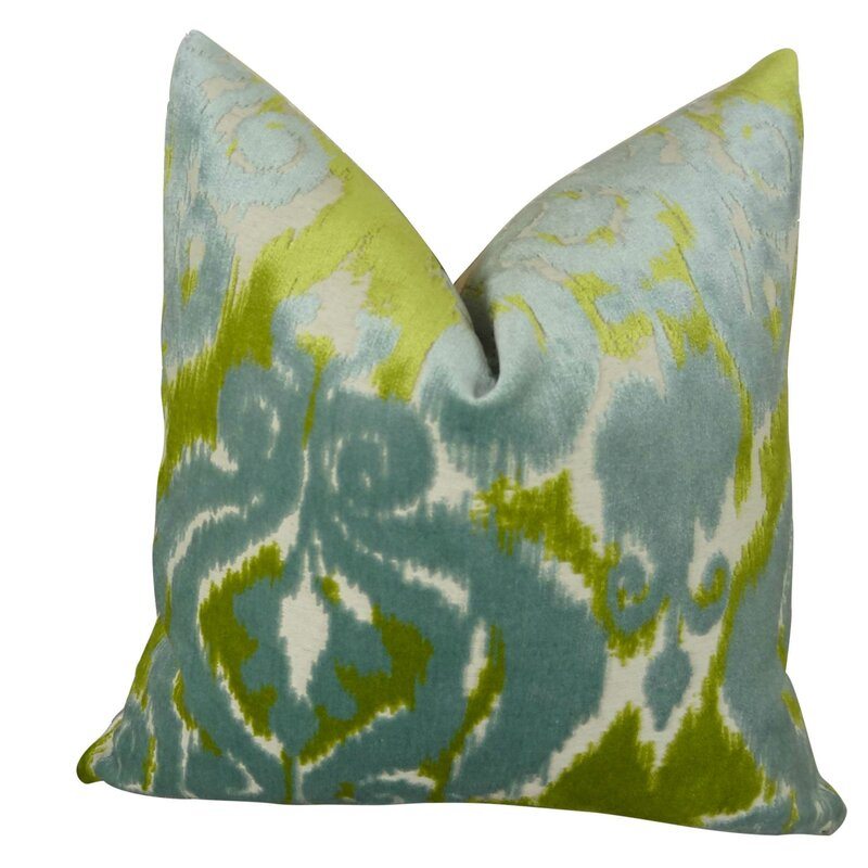 Thomas Collection Citrine Designer Throw Pillow
