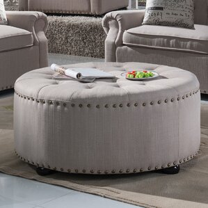 Yately Ottoman by Three Posts