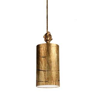 Lucinda 1-Light Cylinder Pendant by Bloomsbury Market