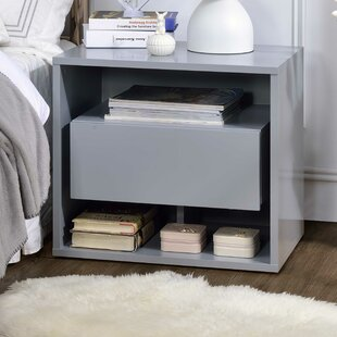 Latitude Run Tildenville 1 Drawer Nightstand