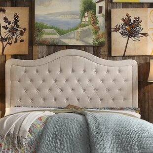 Sieber Upholstered Panel Headboard by Winston Porter