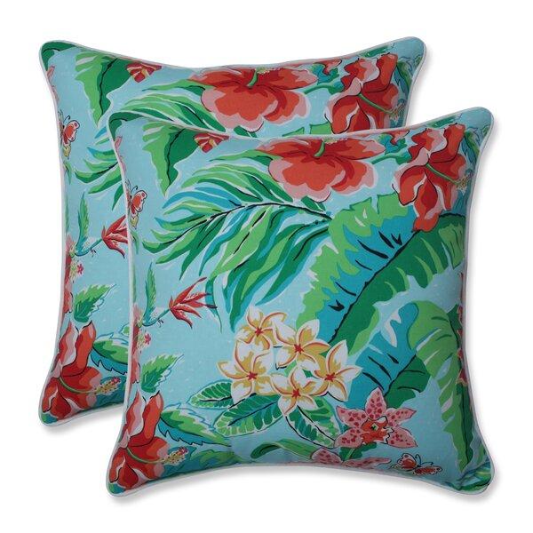 Bay Isle Home Arya Indoor Outdoor Throw Pillow Wayfair
