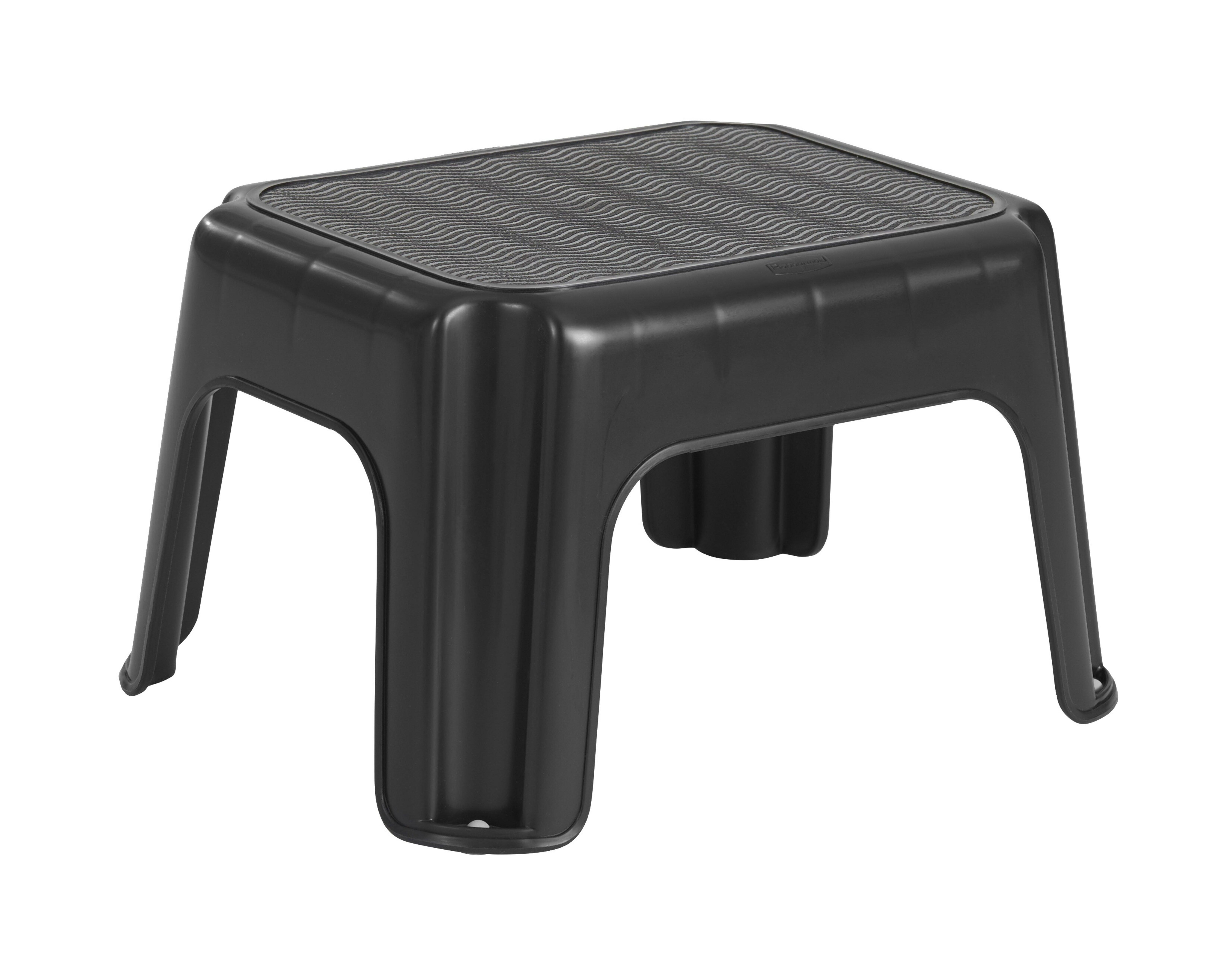 Rubbermaid 1 Step Plastic Step Stool With 200 Lb Load Capacity Wayfair
